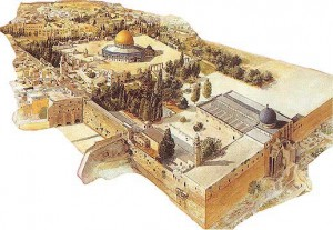Dome of the Rock and AlAqsa Area