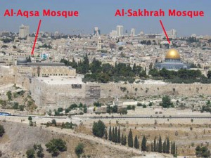 Al Aqsa Mosque and the Dome of the Rock